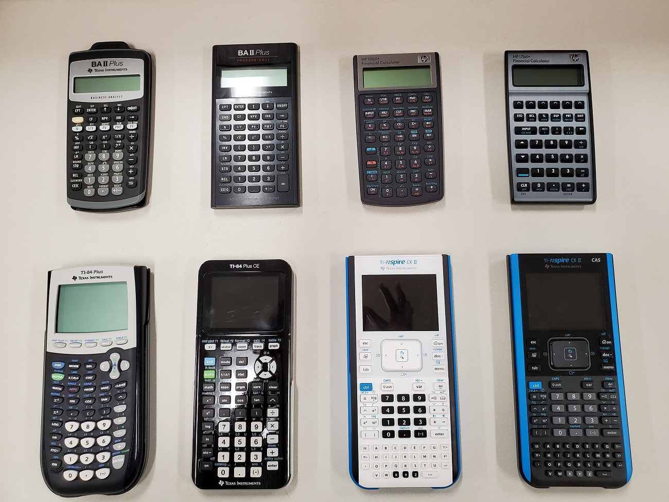 Graphing and Financial Calculators